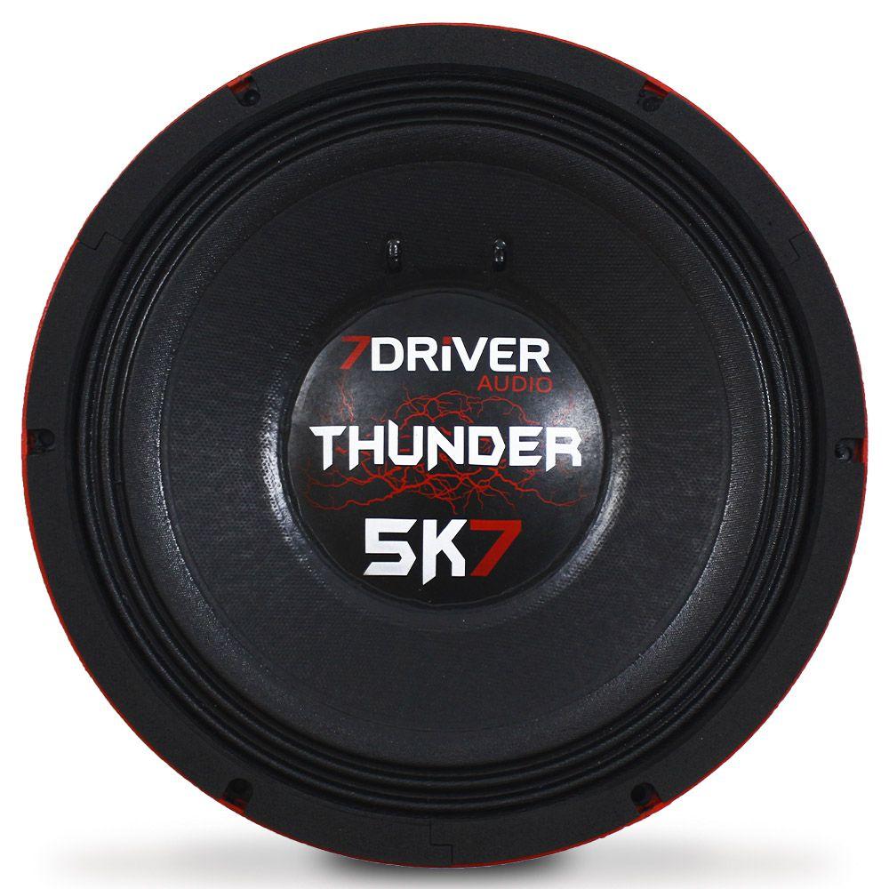 Woofer 12 Polegadas 7 Driver 2850 Rms 12-Thunder5K7 5700w