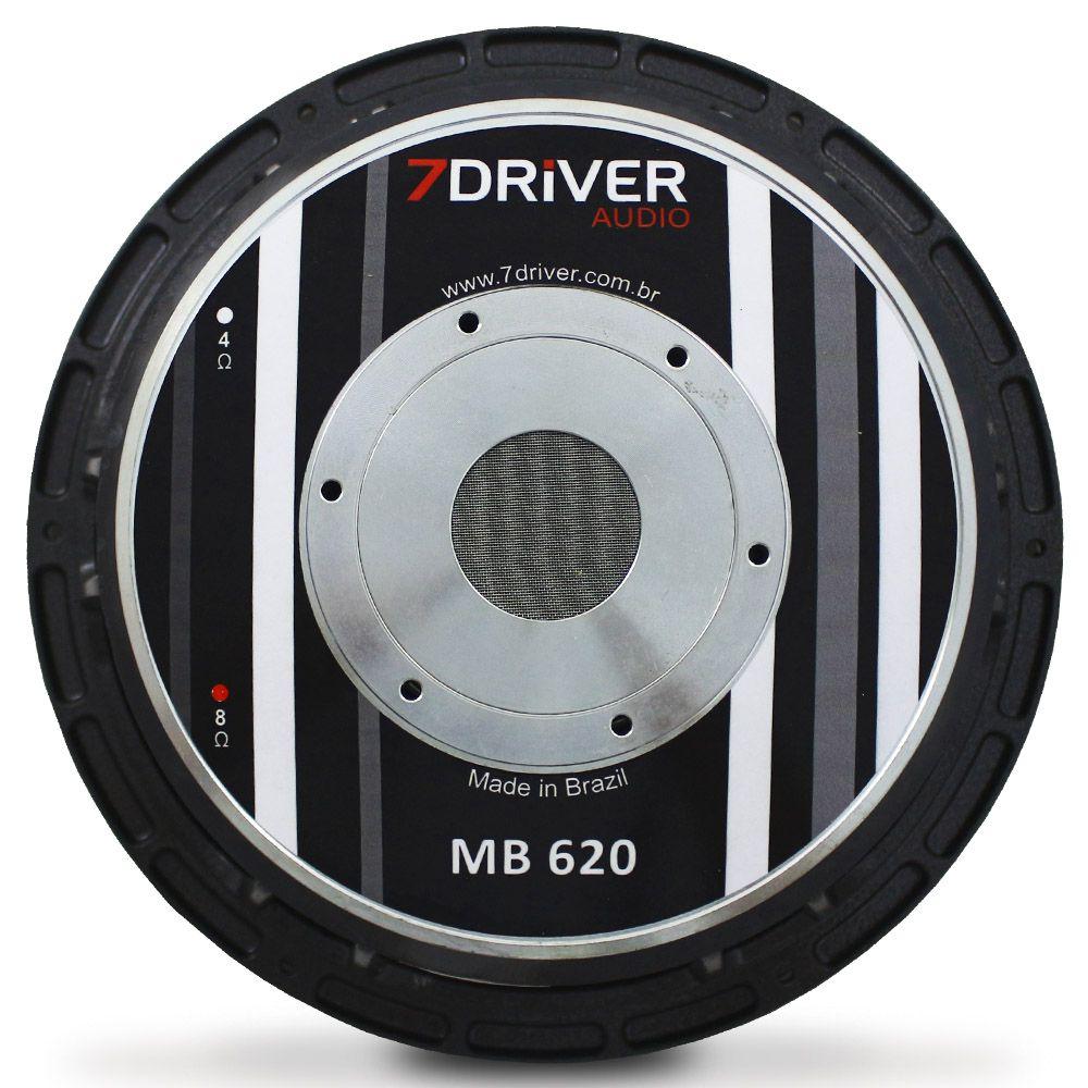 Woofer 12 Polegadas 7 Driver 620 Rms 12-MB620 1240w Pico