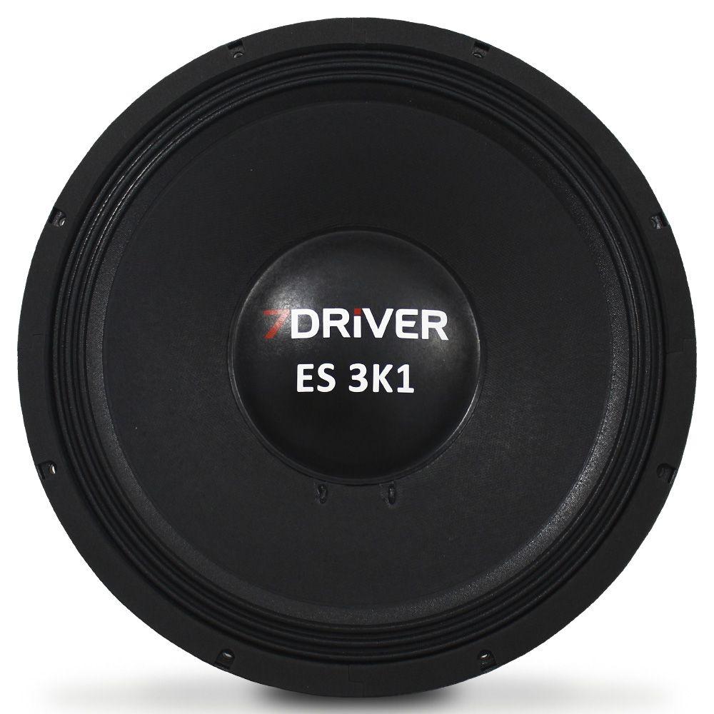 Woofer 15 Polegadas 7 Driver 1550 Rms 15-ES3K1 3100w Pico