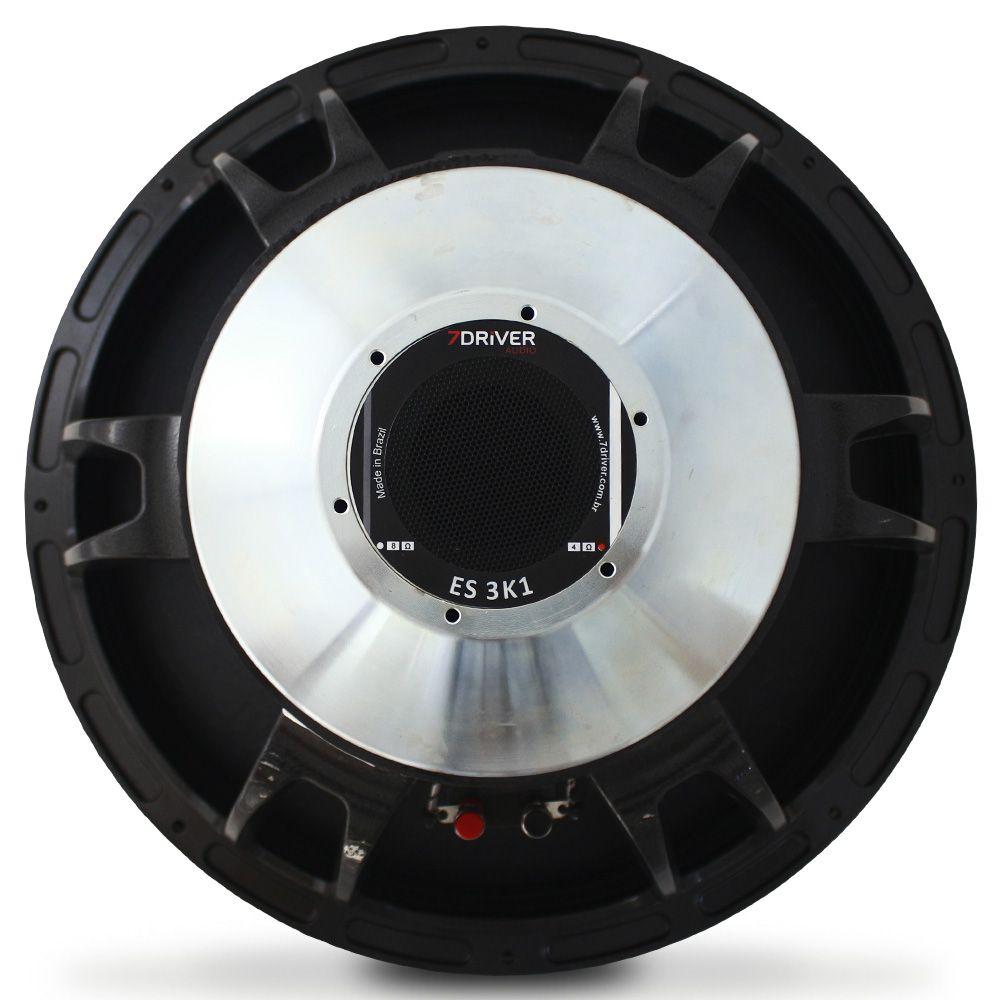 Woofer 18 Polegadas 7 Driver 1550 Rms 18-ES3K1 3100w Pico