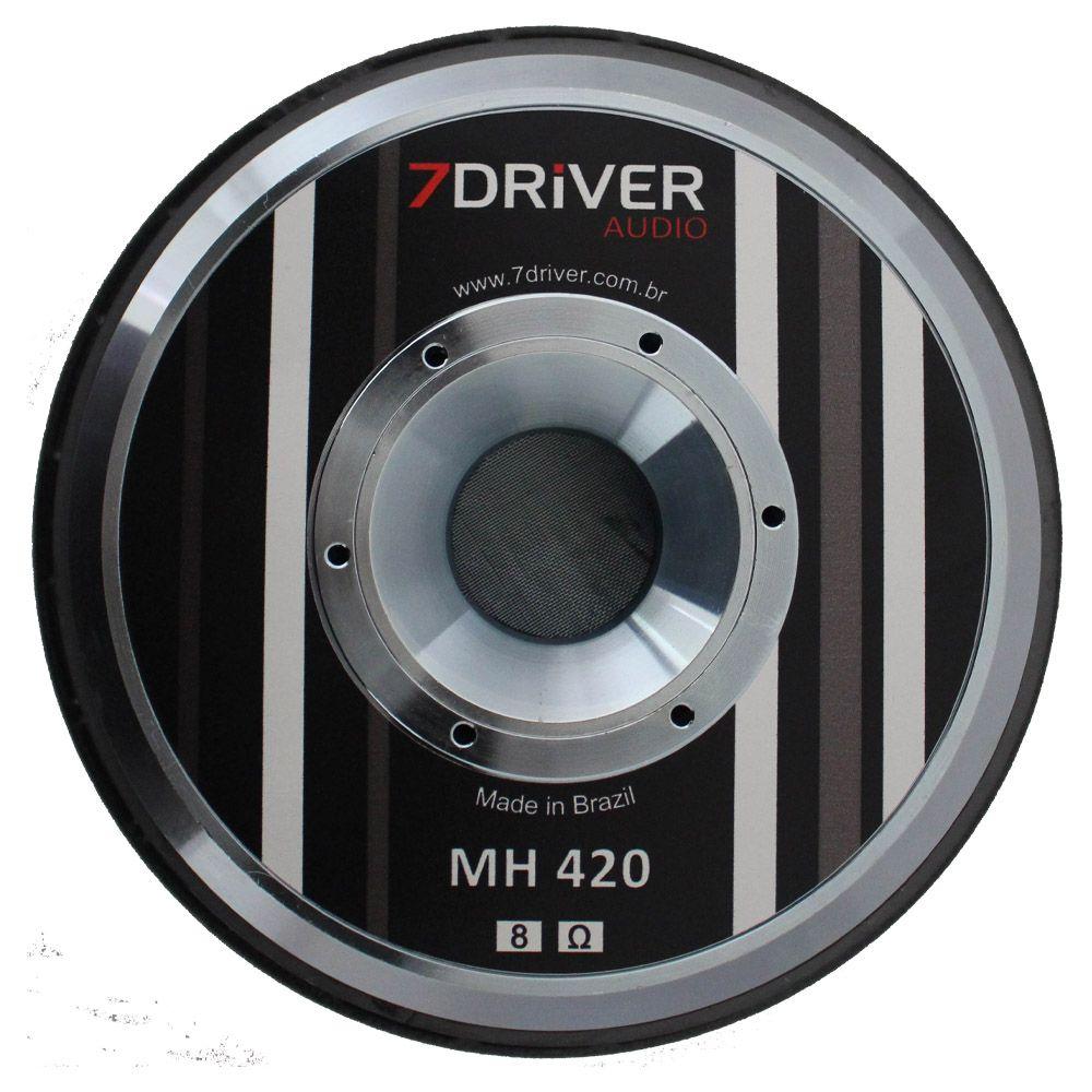 Woofer 10 Polegadas 7 Driver 420 Rms 10-MH420 840w Pico