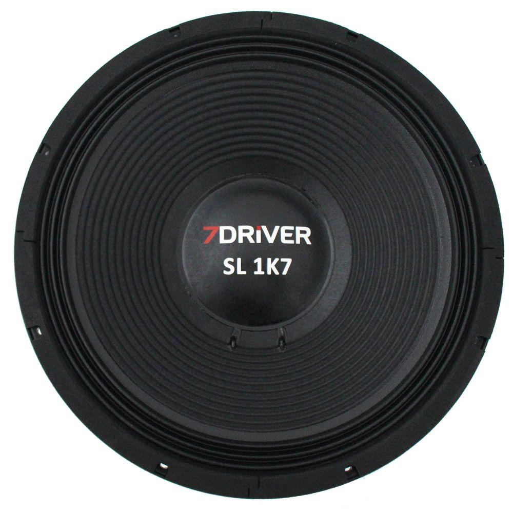 Woofer 15 Polegadas 7 Driver 850 Rms 15-SL1K7 1700w Pico