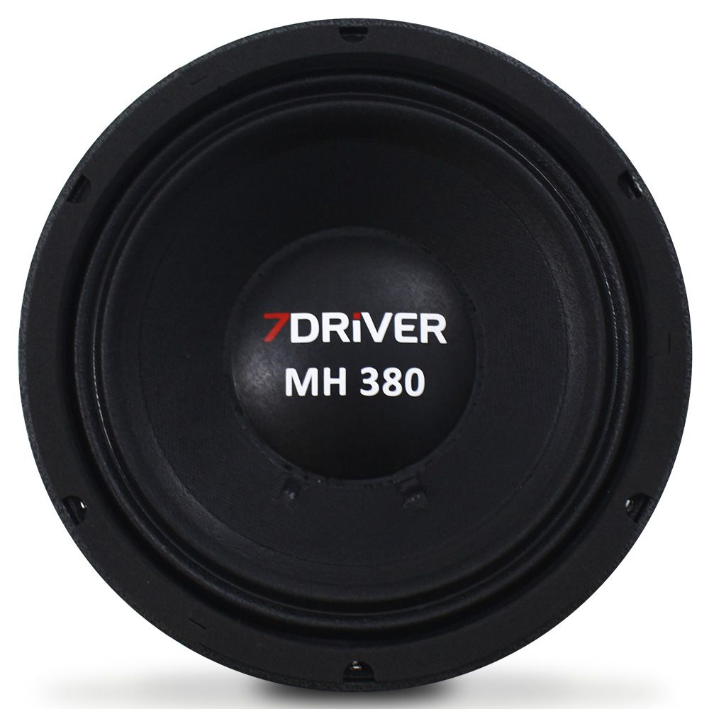 Woofer 8 Polegadas 7 Driver 380 Rms 8-MH380 760w Pico