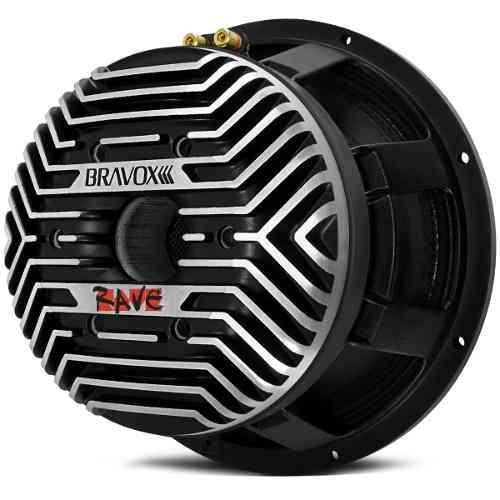 Woofer Bravox 12 1800 Rms Rave 4 Ohms