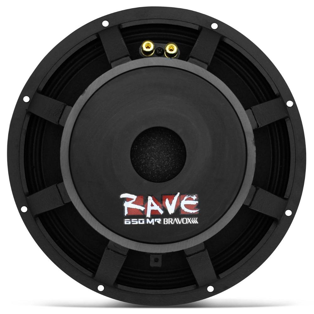 Woofer Bravox 12 650 Rms Rave Mid Range 4 Ohms