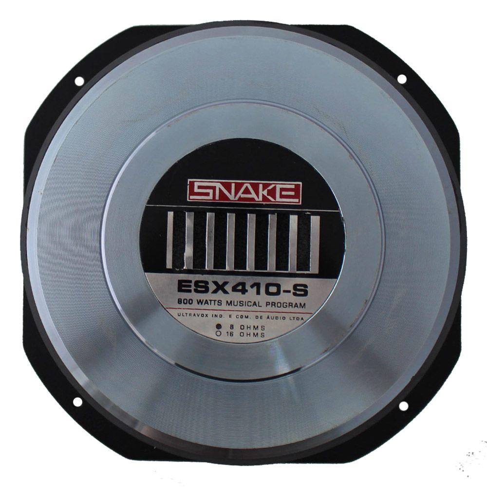 Woofer 10 Polegadas Snake 400 Rms ESX-410S 800w Pico