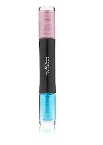 Esmalte + Brilho Original L'Oréal Paris Gel Infalível, Cor Infinite Lilac nº 915 Importado
