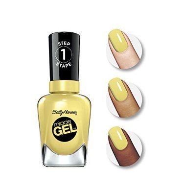 Esmalte Gel Original Sally Hansen Miracle Gel Nail, Cor Lemon Heaven nº 390 Importado