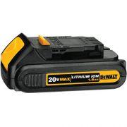 Bateria 20v Max Compact 1.5 Ah De Lítio - Dcb201-b3 Dewalt