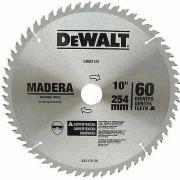 Disco De Serra  Widea 10   60 Dentes Madeira Dewalt Dwo3120