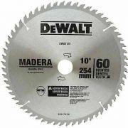 """DISCO DE WIDEA 10"""" 60 DENTES P/MADEIRA - DEWALT DWA03120"""