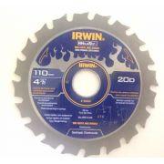 Disco Para Serra Marmore Weldtec 110mm - 20 Dentes - 1863658