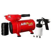 Motocompressor De Ar Direto Com Kit Para Pintura - Schulz