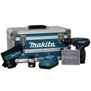 Furadeira Parafusadeira Maleta Acessórios Makita  DF330DWEX3