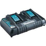 Carregador De Bateria Duplo Com Usb 14,4~18v Dc18rd Makita
