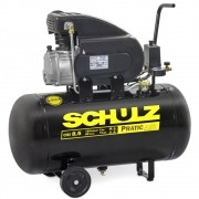 COMPRESSOR DE AR PRATIC AIR CSI 8,5 PÉS 2HP 50 LITROS - SCHULZ