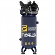COMPRESSOR DE AR VERTICAL NOTUS 2HP 80 L 10 PÉS 110/20V MON