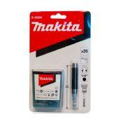 CONJUNTO BITS COM PORTA BIT GUIA 80MM 26 PCS B-49890 MAKITA