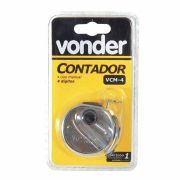 Contador Manual de 4 Digitos Vcm 4 Vonder - 3868400000