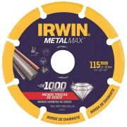 Disco de Corte 4.1/2 POL (115 MM) METALMAX IRWIN