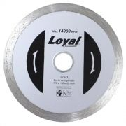 DISCO DIAMANTADO LISO 110 X 20 MM LOYAL 04104009