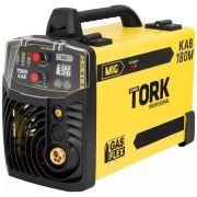 INVERSOR 180 AMPERES MIG 220V ROLO 5KG - TORK IM-8180/5K