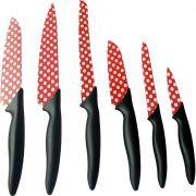 Jogo de 6 Facas Para Cozinha - MTX - 7914855