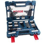 JOGO / KIT DE BROCAS E BITS V-LINE 91 PEÇAS - 2607017402000 Bosch