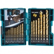 KIT DE BROCAS HSS-TIN 19 PECAS - D-67527 MAKITA