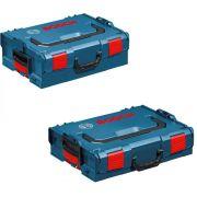 KIT MALETA DE USO PROFISSIONAL BOSCH  L-BOXX 102 e L-BOXX 136