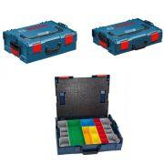 KIT MALETA DE USO PROFISSIONAL BOSCH  L-BOXX 102,L-BOXX 136
