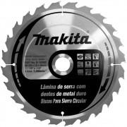 DISCO DE CORTE PARA MADEIRA 255MM 24 DENTES - B-19392 MAKITA