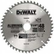 LAMINA P/SERRA CIRC.7-1/ 4 48DT ALUMINIO - DEWALT DWA03200