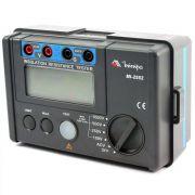 MEGÔMETRO DIGITAL PROFISSIONAL 600V CAT III - MI-2552 MINIPA