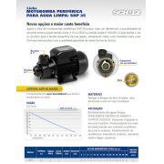 Moto Bomba D'agua Periférica Para Poço 0,5cv - Mps35 Schulz