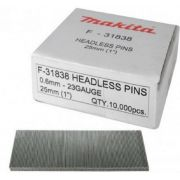PINOS PARA PINADOR 25MM (1POL) DIAM 0.6MM - MAKITA F-31838