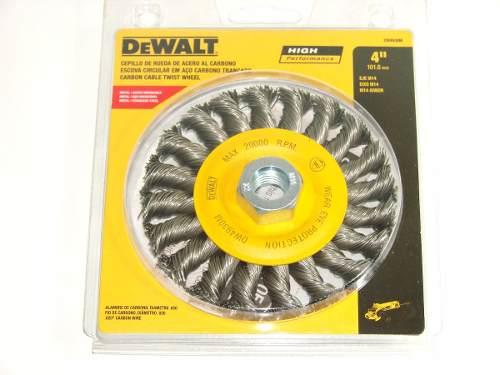 Escova Trançada De 4 - Dw4930m Dewalt