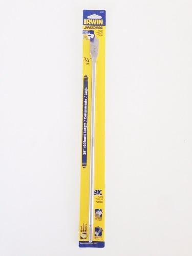 Broca Chata Para Madeira Irwin Spdb 400mm X 19mm  -  Iw14017