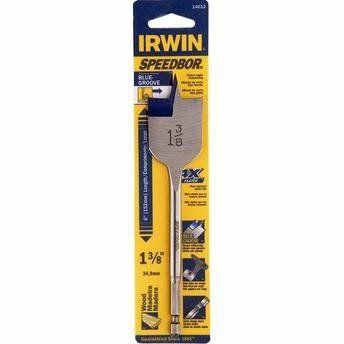 Broca Chata Para Madeira Irwin 6 X 1 3/8 - 34.9mm  Iw14012