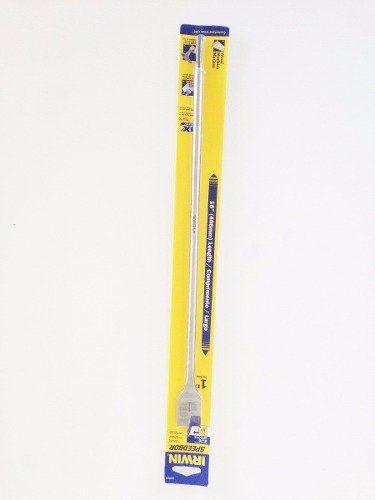 Broca Chata Longa Madeira Irwin Spdb 400mm X 25.4mm  Iw14019