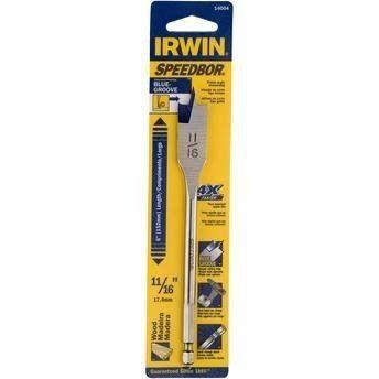 Broca Chata Para Madeira Irwin 6 X 11/16 - 17.4mm Iw14004