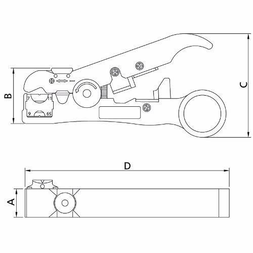 Alicate Desencapador De Fios 5 - 44051/105 Tramontina