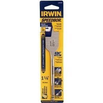 Broca Chata Para Madeira Irwin 6 X 1 1/8 - 28.5mm Iw14010