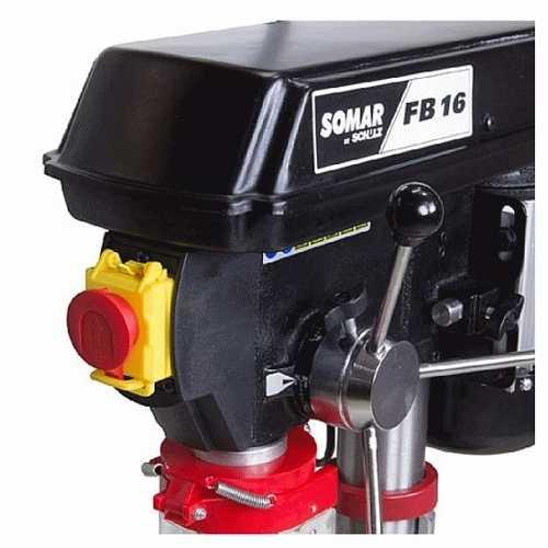 FURADEIRA DE BANCADA COM MANDRIL DE 16 MM E MOTOR DE 1/2 CV - FSB16P - SCHULZ
