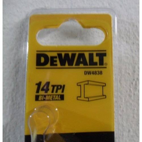 Kit C/ 5 Laminas Serra Sabre P/ Metal 12 Dw4838 Dewalt