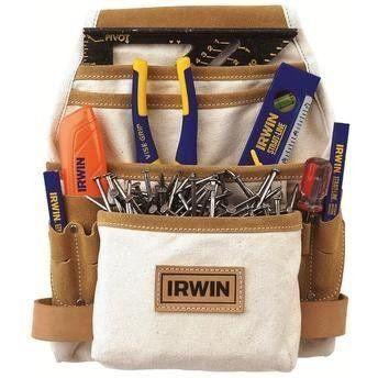 Pochete De Ferramentas Em Lona Com 10 Bolsos Irwin - Iw14090