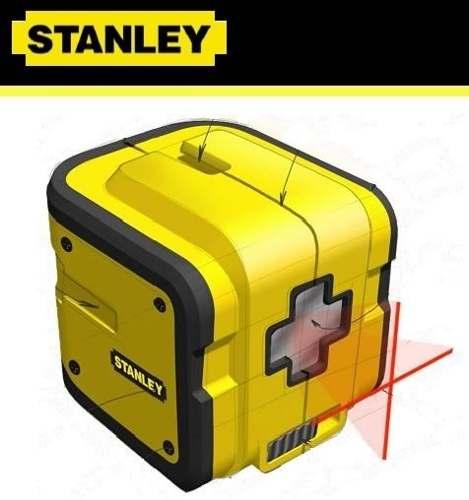 Nível A Laser Stanley Cubix Stht77340 - Auto-nivelador Cross