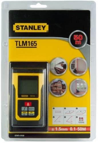 MEDIDOR  TRENA LASER A DISTANCIA 50M - STANLEY TLM165