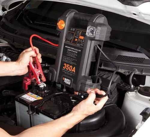 Auxiliar De Partida E Compressor - Js350cc Black E Decker