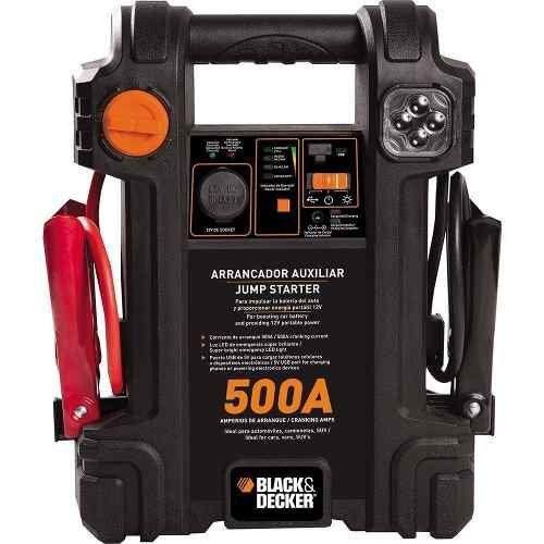 AUXILIAR DE PARTIDA 12V 500A BIVOLT - JS500S BLACK E DECKER